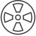 lab, laboratory, nuclear, radiation icon
