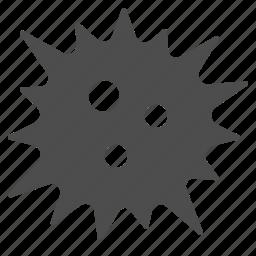 atom, bacteria, germ, molecule, science, virus icon