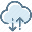 cloud, cloud technolog, download, technology, upload, wireless icon