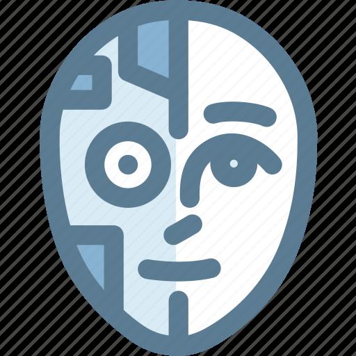 humanoid, machine, robot, science, technology icon