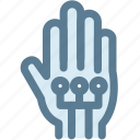 electronic, hand, technology, virtual reality, wired gloves icon
