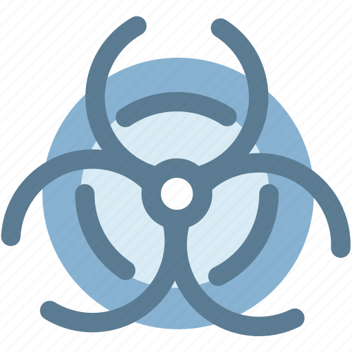 atomic, biohazard, caution, experiment, nuclear, research icon