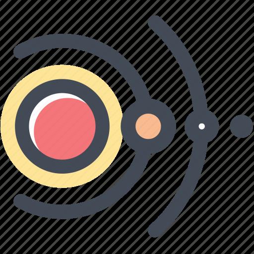 astronomy, orbitals, orbits, planetary system, planets icon