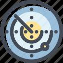 location, maps and flags, monitor, radar, sonar icon