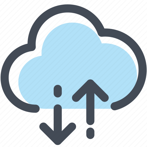 cloud, cloud technology, download, technology, upload, wireless icon