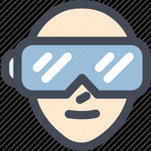 electronics, gaming, oculus rift, technology, virtual reality icon