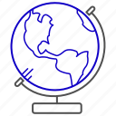 earth, global, planet, science, world icon