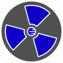 nuclear, physics, science icon