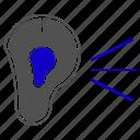 ear, hear, listen, organ, science icon