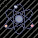 atom, education, science, radioactive
