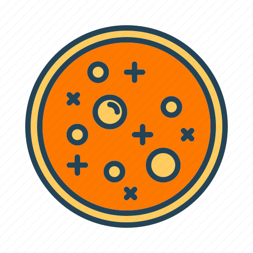 dish, petri icon