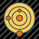 solar, system icon