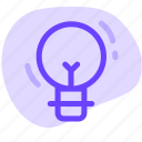 idea, lamp, light, light bulb, lightbulb icon