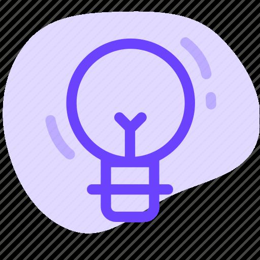 Idea, lamp, light, light bulb, lightbulb icon - Download on Iconfinder