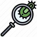 detective, glass, loupe, magnifying, tools, utensils, zoom