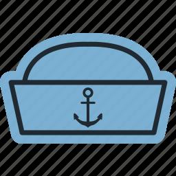 boat, mủ, sea, vessel, water icon