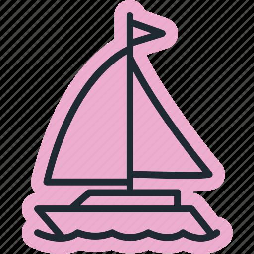 marine, ocean, sea, travel, vacation icon