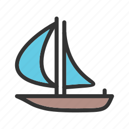 boat, fishing, holiday, sea, water, yacht, yatch icon