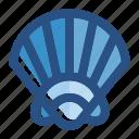 beach, ocean, sea, seashell, shell, summer, underwater icon