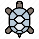 animal, animals, aquarium, aquatic, kingdom, life, sea, turtle, wild, zoo icon