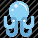 animals, aquarium, aquatic, life, octopus, sea icon