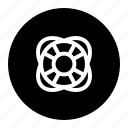 guard, help, life, sea, security, sos, tube icon