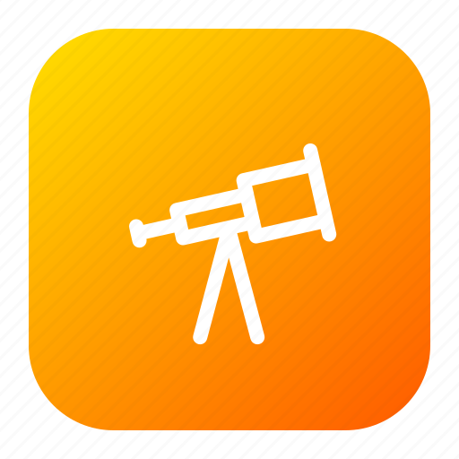 binoculars, holiday, sea, telescope icon