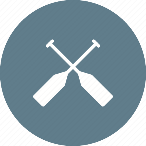 boat, oar, paddle, rafting, river, rowing, water icon