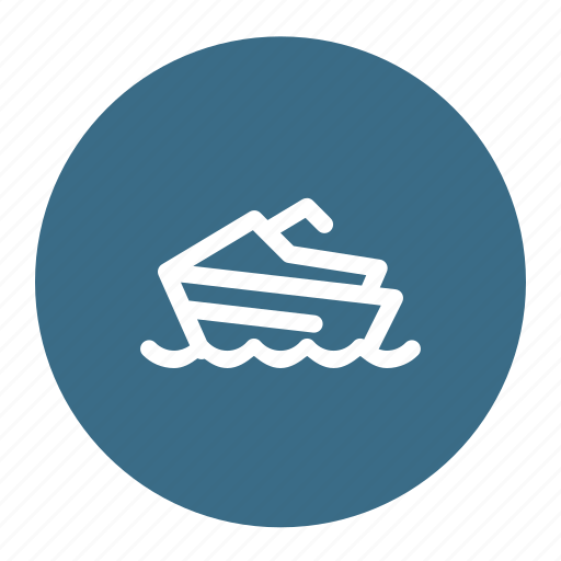 Boat, ocean, sea, ship, windsurfing icon - Download on Iconfinder