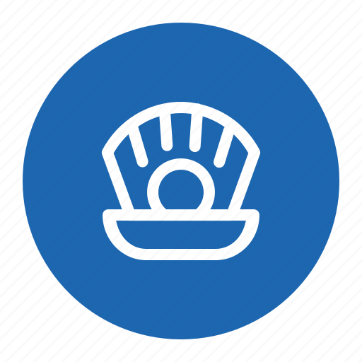 Diamond, ocean, pearl, sea, shell icon - Download on Iconfinder