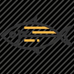 animal, mackeral, seafood, shot icon