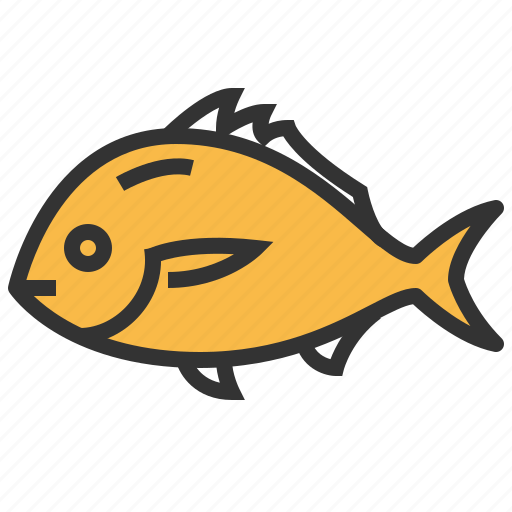animal, fish, seafood, snapper icon