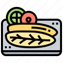 atlantic, cod, cuisine, dinner, fish icon