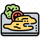 appetizer, asia, cooked, cuisine, jellyfish icon