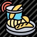 chip, cuisine, fish, puffer, restaurant