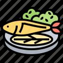 dinner, fish, healthy, steak, tuna