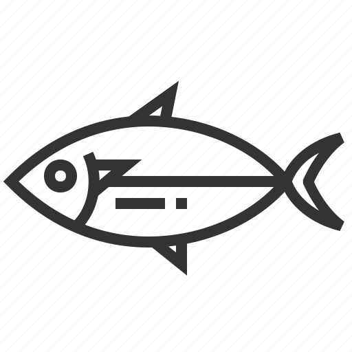 fish, food, mackeral, seafood, shot icon