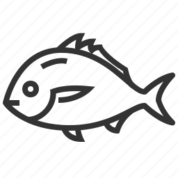fish, food, seafood, snapper icon