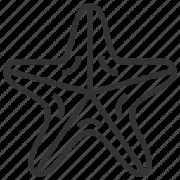 animal, seafood, star, starfish icon