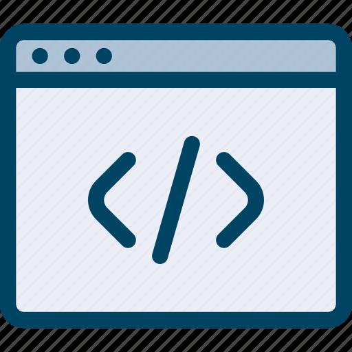 code, html, page, web icon