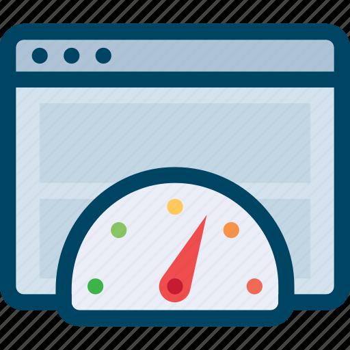 internet, page, speed, test, web icon