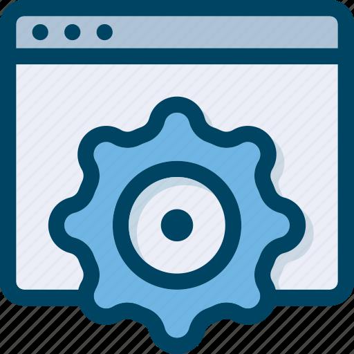 optomosation, page, seo, settings, web icon