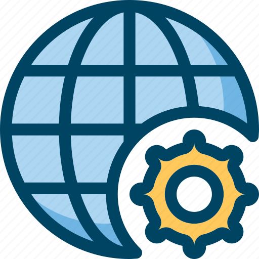 Development, globe, internet, seo, settings, web icon - Download on Iconfinder