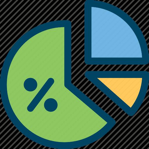 Analytics, chart, finance, percent, pie, web icon - Download on Iconfinder