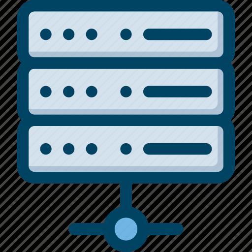 data, hosting, seo, server, tech icon