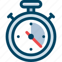 optimization, performance, seo, speed, stopwatch, test icon