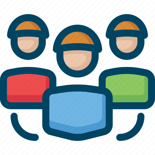 audience, group, media, seo, social, target, user icon