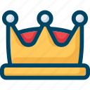crown, king, premium, seo, vip icon