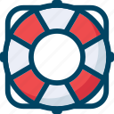 help, lifebuoy, seo, service, support, swim icon