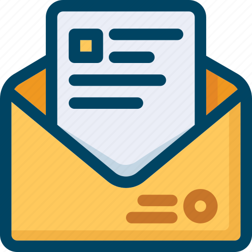 Email, envelope, letter, marketing, message, seo, text icon - Download on Iconfinder